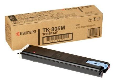 Kyocera TK-805M TK-805M Magenta Toner Cassette (10,000 Pages) for FS-C8008N/KM-C850