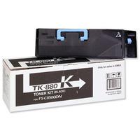 Kyocera 1Y02KA0NL0 TK-880K 25k Black Toner Cartridge