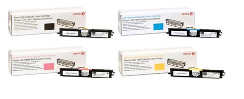 Xerox  Toner Rainbow Pack CMY (1.5K) + Black (2.6K)
