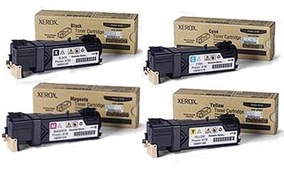 Xerox  Toner Rainbow Pack CMY (1.9K) + Black (2.5K)