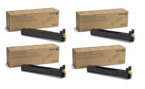 Xerox  Hi-Cap Toner Rainbow Pack CMY (14K) + Black (12K)