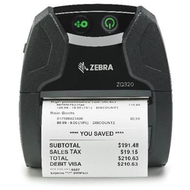 Zebra ZQ320 (USB & Bluetooth, Outdoor)