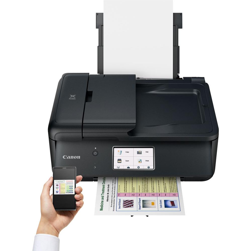 canon pixma tr8550 a4 colour multifunction inkjet printer. Black Bedroom Furniture Sets. Home Design Ideas
