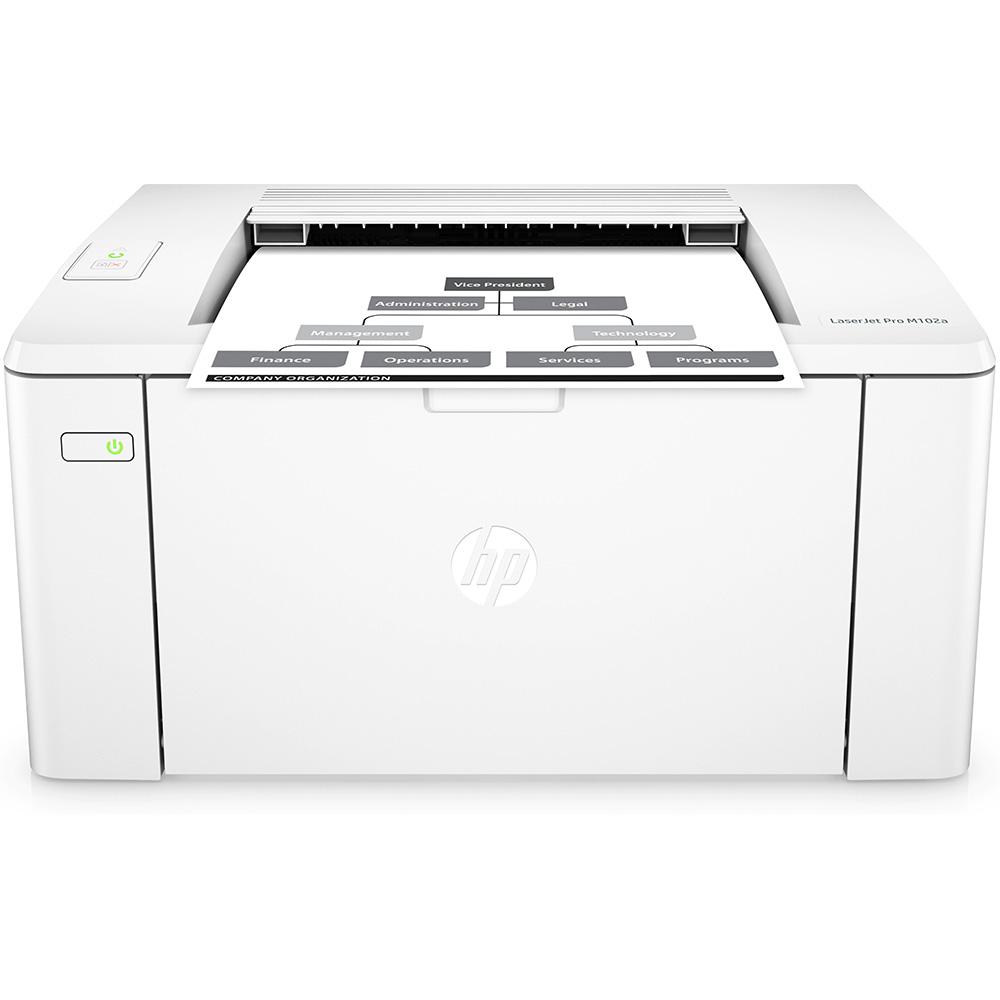 Hp Laserjet Pro M102a A4 Mono Laser Printer G3q34a