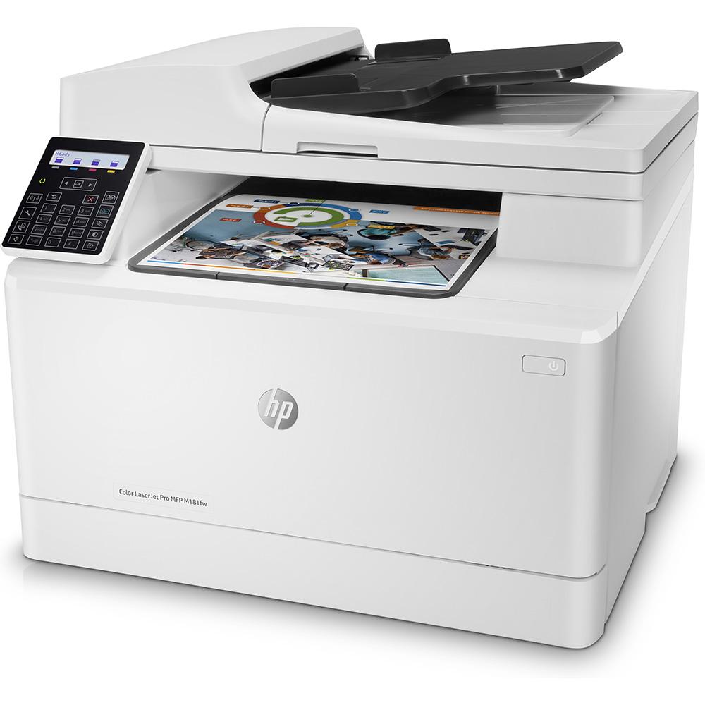 Hp Color Laserjet Pro Mfp M181fw A4 Colour Multifunction