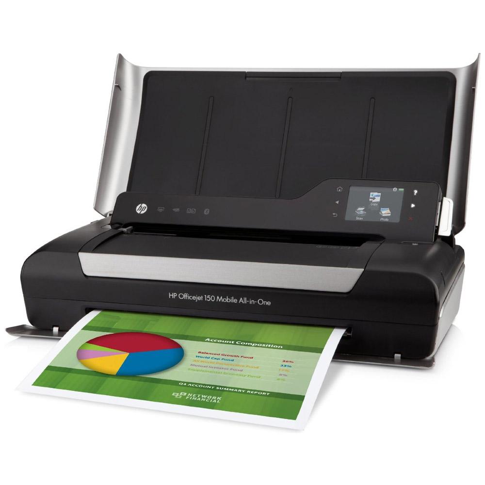Hp Officejet 150 A4 Colour Inkjet Printer Cn550a