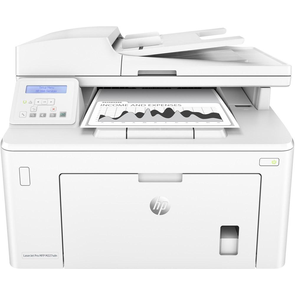 HP Laserjet Pro M227sdn A4 Mono Multifunction Laser Printer