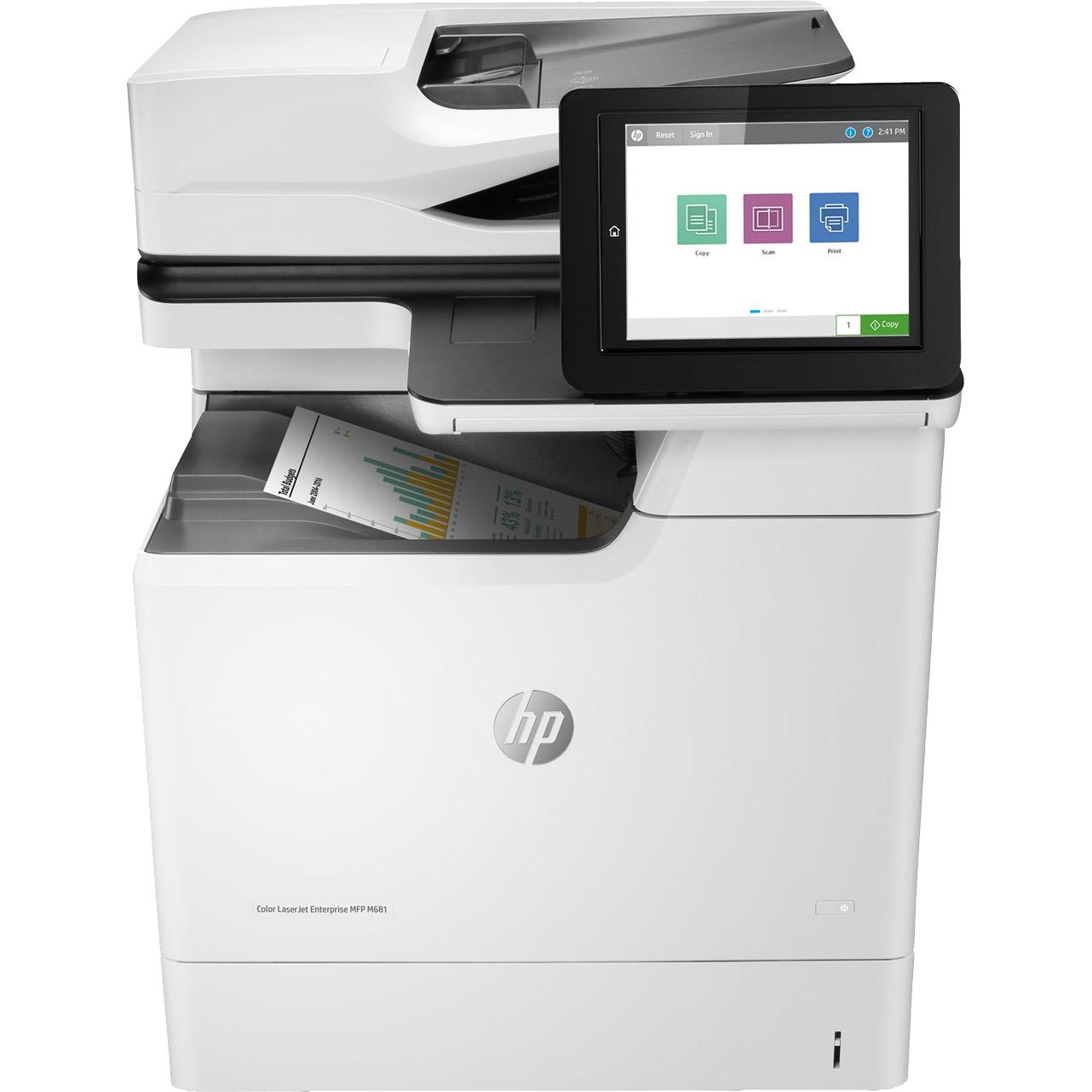 HP Colour LaserJet Enterprise M681f A4 Colour Multifunction Laser Printer