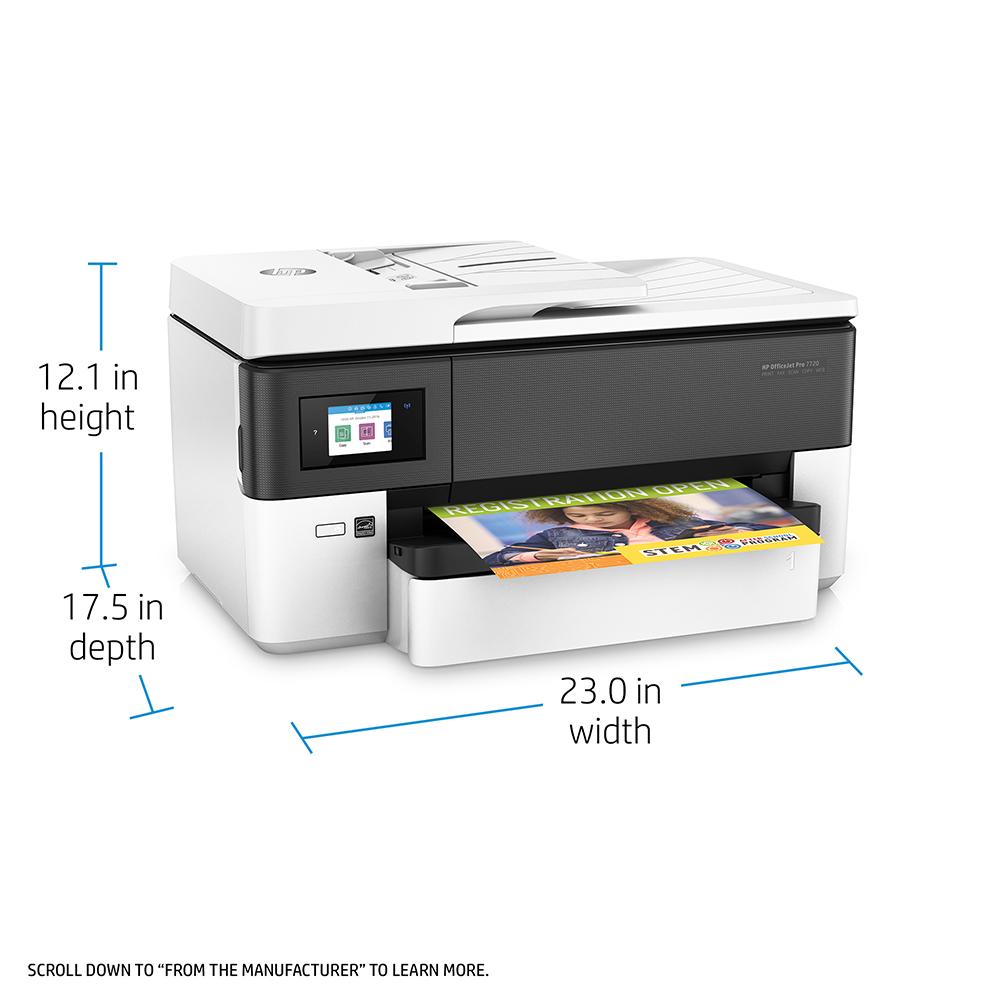 HP OfficeJet Pro 7720 A4 Colour Multifunction Inkjet