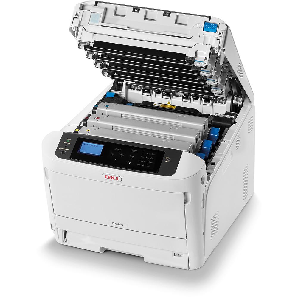 Applicable LT4683 Powder Box C8300 C8300N C8300DN C8700DN Ink Cartridge Color Laser Printer Office Supplies-Four-Color