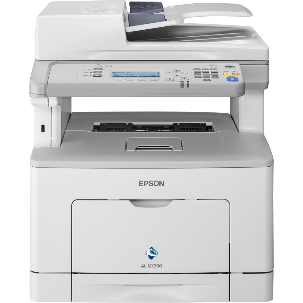 Epson Workforce Al Mx300dn A4 Mono Multifunction Laser Printer C11cd74001by