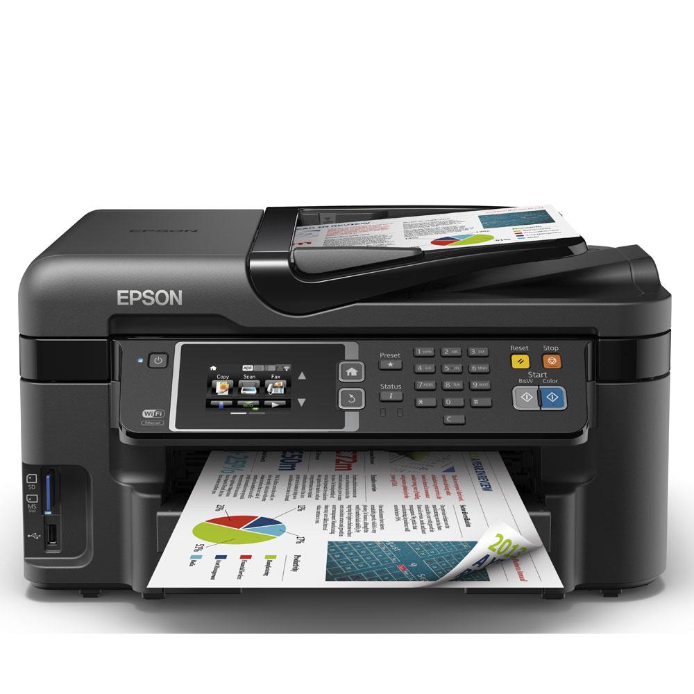 Epson Workforce WF-3620DWF A4 Colour Multifunction Inkjet