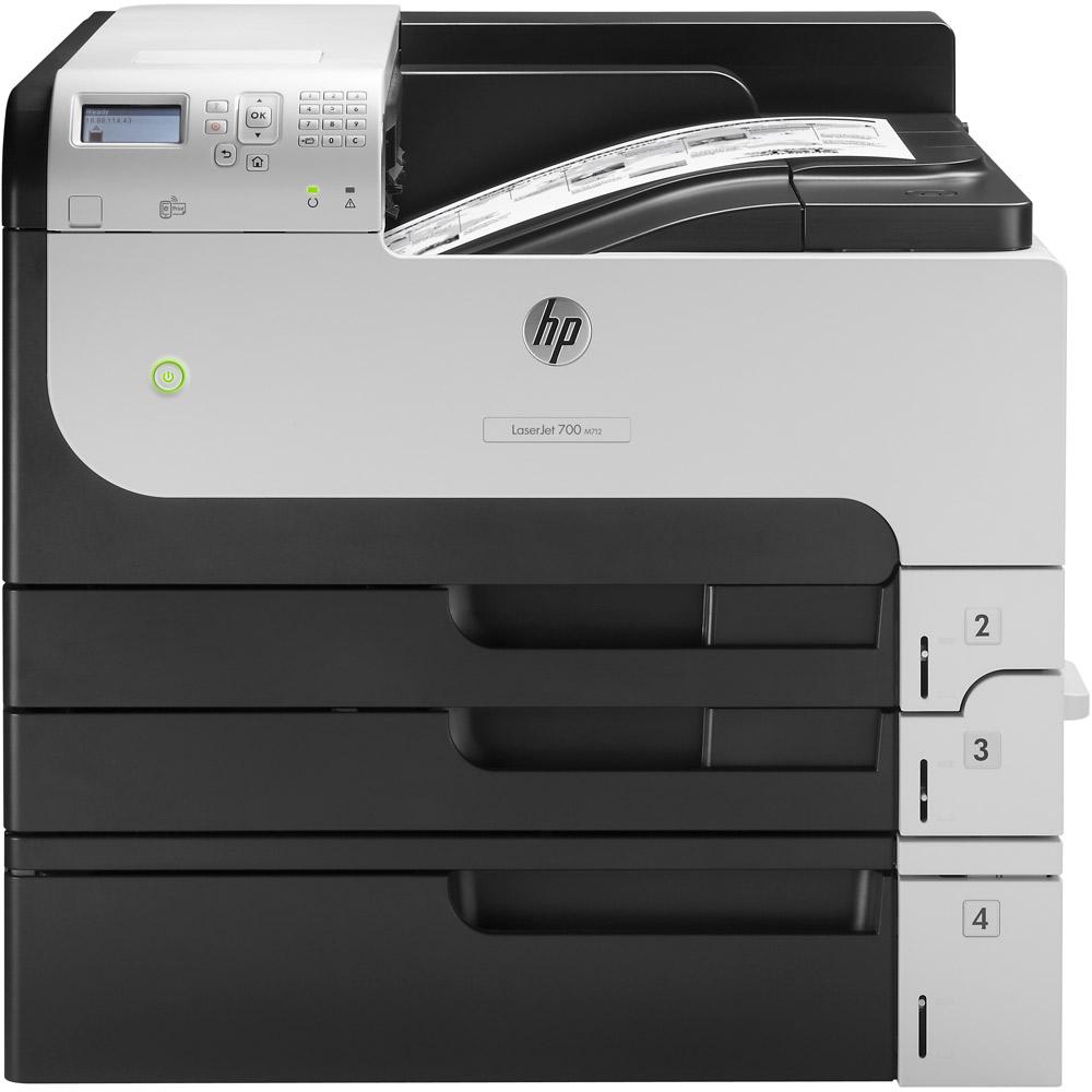 Hp Enterprise 700 M712xh A3 Mono Laser Printer Cf238a