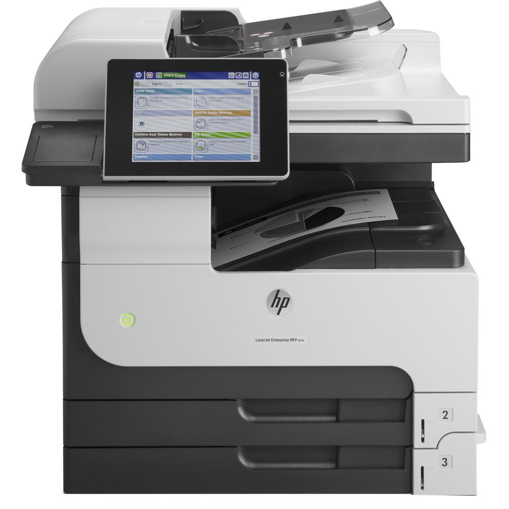 HP Laserjet Enterprise M725dn A3 Mono Multifunction Laser Printer