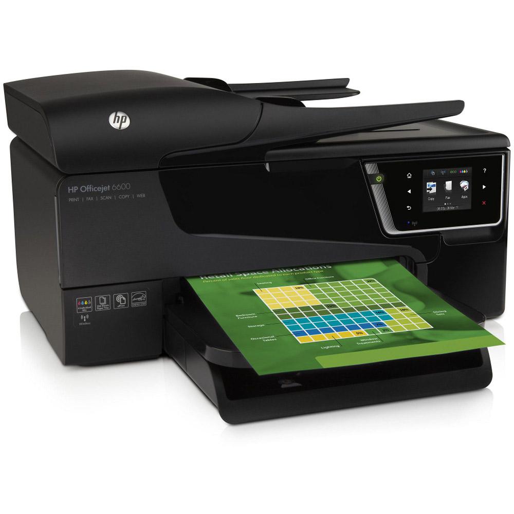 HP Officejet 6600 e A4 Colour Multifunction Inkjet Printer