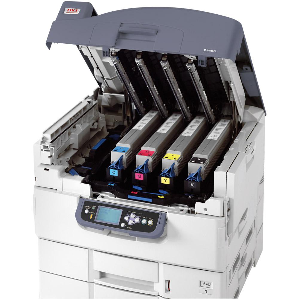 OKI C9655 | OKI C9655n A3 Colour LED Laser Printer - 01307501