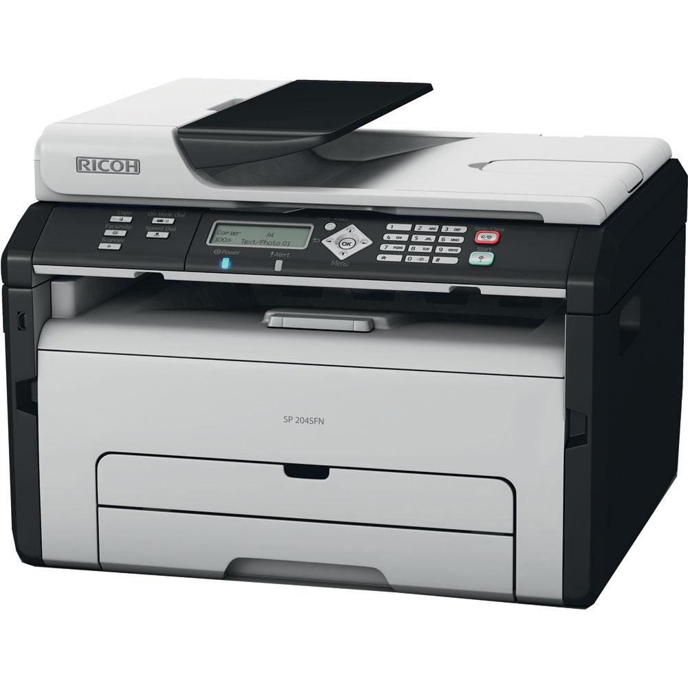 Ricoh Sp204sn A4 Mono Multifunction Laser Printer 991959