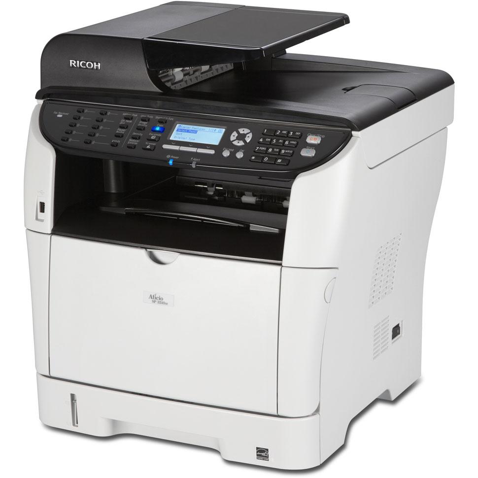 Ricoh Sp3500sf A4 Mono Multifunction Laser Printer 980657