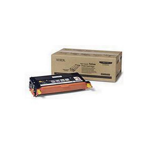Xerox 113R00725 Yellow Hi Cap Toner Cartridge (6,000 Pages)
