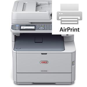 Oki AirPrint Compatible Printers