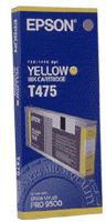 Epson Yellow T475 Ink Cartridge