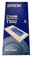 Epson Cyan T502 Ink Cartridge