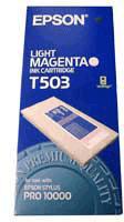 Epson Light Magenta T503 Ink Cartridge