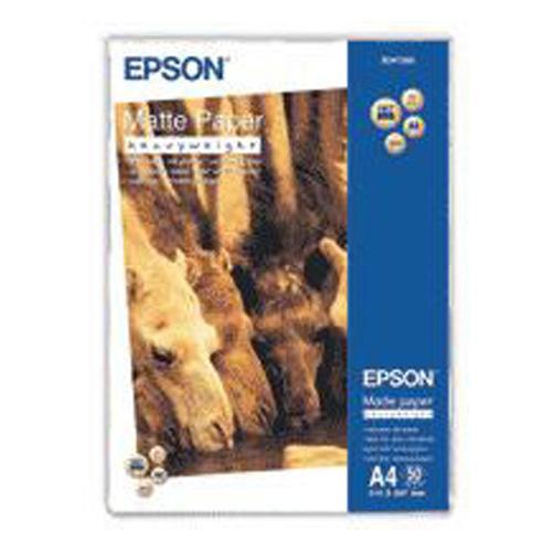 Epson A4 Matte Paper - Heavyweight (50 Sheets)