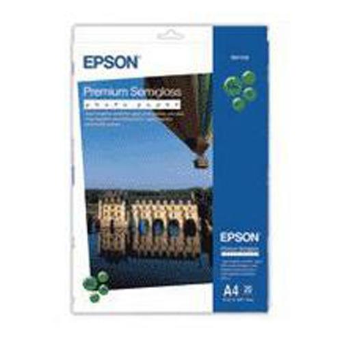 Epson A4 Premium Semi-Gloss Photo Paper (20 Sheets)