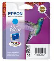 Epson Cyan T0802 Ink Cartridge