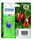 Epson (Cyan/Light Cyan/Magenta /Light Magenta/Yellow) T027 5 Colour Ink Cartridge