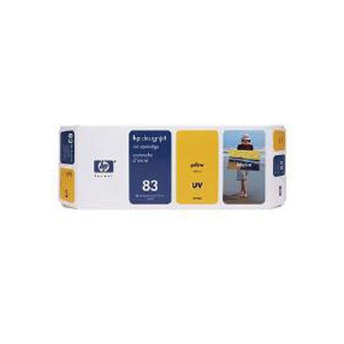 HP No.83 UV Yellow Ink Cartridge (680 ml)