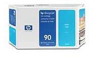 HP No.90 Cyan Ink Cartridge (225ml)