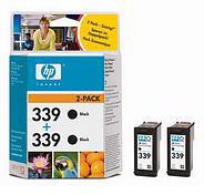 HP No.339 Black Print Cartridge (2 Pack)