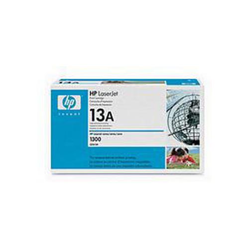 HP 13A Black LaserJet Printer Cartridge (2,500 pages)