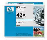HP 42A LaserJet Black Print Cartridge (10,000 Pages)