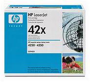 HP 42X Black LaserJet Print Cartridge (20,000 pages)