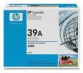 HP 39A Black Toner (18,000 pages)