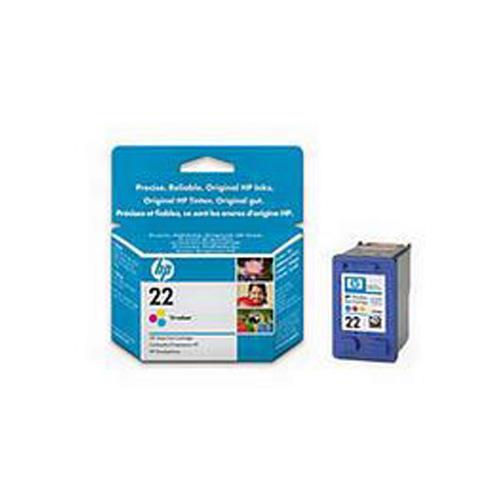 HP No.22 Tri-Colour InkJet Print Cartridge