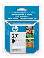 HP No.27 Black Ink Cartridge (10ml)