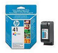 HP No.41 Tri-Colour Inkjet Print Cartridge