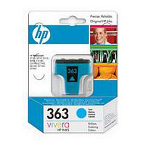 HP No.363 Cyan Ink Cartridge (4ml)