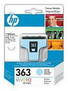 HP No.363 Light Cyan Ink Cartridge (5.5ml)