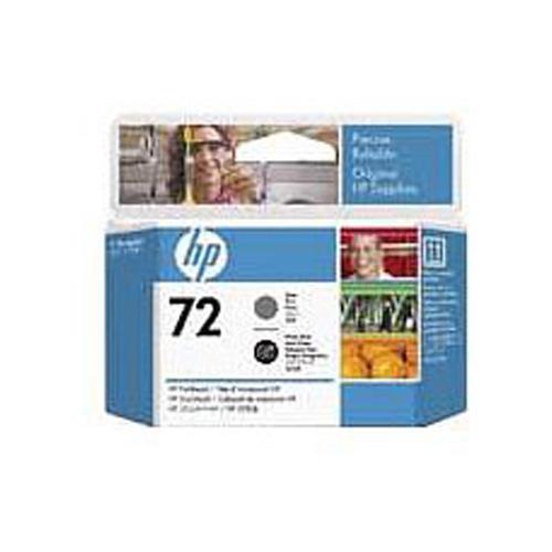 HP No 72 Grey and Photo Black Printheads