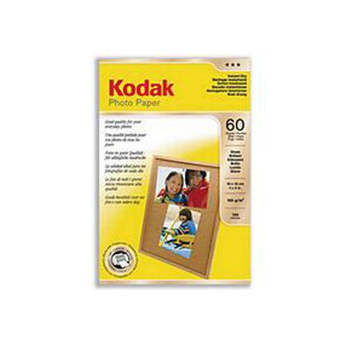 Genuine Kodak Photo Paper Inkjet Glossy 10 x 15cm - 60 Sheets