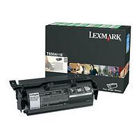 Lexmark 0T650A11E Black Return Program Print Cartridge (7,000 Pages)