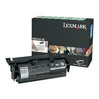 Lexmark X651A11E Black Return Program Print Cartridge (7,000 Pages)