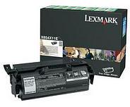 Lexmark X654X11E Black Return Program Print Cartridge (36,000 Pages)