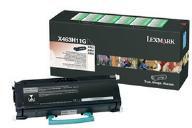Lexmark X463H11G Black High Yield Return Program Toner Cartridge (9,000 Pages)