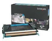 Lexmark 0C734A1CG Cyan Return Program Toner Cartridge (6,000 Pages)